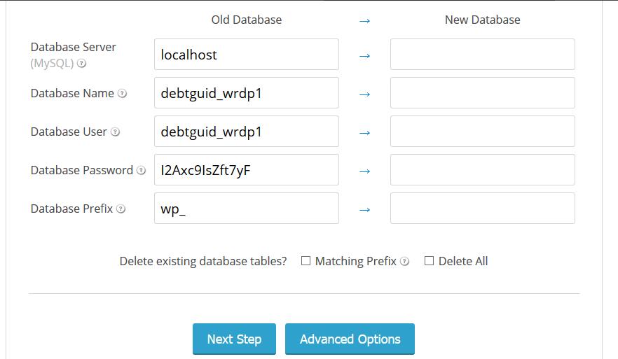 databasesetting
